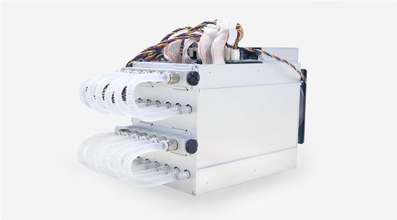 BITMAIN refroidissement par eau BTC mineur AntMiner S9 Hydro 18T avec alimentation APW5 Asic Bitecion BCH Miner, faible bruit, économie d'énergie!