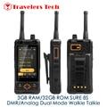 SEGURO 8 S Walkie Talkie DMR Zello PTT 4G LTE Smartphone Octa Core 3 GB RAM 32 GB ROM 5000 mAh 3.5 Pulgadas NFC PK H1 Runbo X6 Móviles teléfono