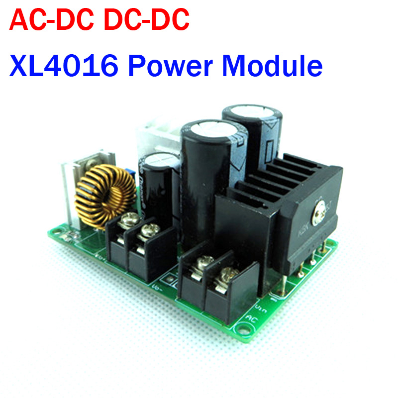 <font><b>AC</b></font>-<font><b>DC</b></font> <font><b>DC</b></font>-<font><b>DC</b></font> Buck Step-Down Converter Adjustable XL4016 <font><b>Power</b></font> <font><b>Supply</b></font> <font><b>Module</b></font> <font><b>AC</b></font> 5V~25V, <font><b>DC</b></font> 5V-40V TO 3V <font><b>3.3V</b></font> 5V 12V 24V image