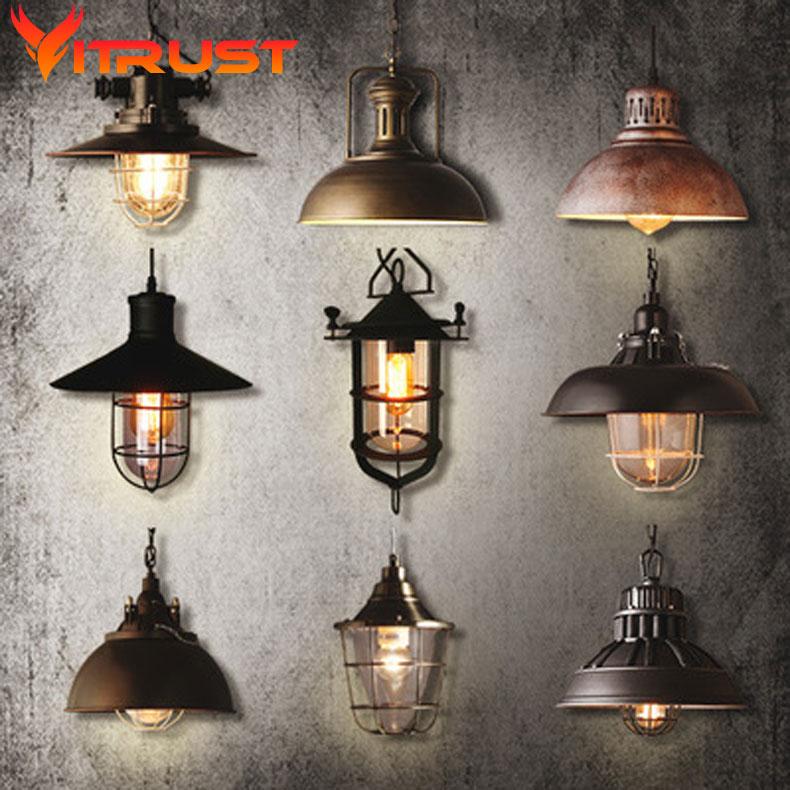 Vintage dinning font b room b font pendant lamp restaurant font b bar b font light