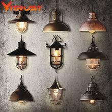 Comedor de la vendimia colgante lámpara restaurante bar lámpara de la vendimia accesorios de cocina ligera lampara colgante de la vendimia