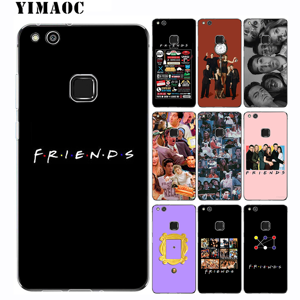 YIMAOC Friends TV Show Soft Case for Huawei Mate 30 20 P30 P20 P10 P9 P8 2015 2016 2017 P Smart Lite Pro image
