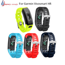 For garmin VIVO Smart HR Band Replacement Sports Silicone Bracelet Strap for Vivosmart