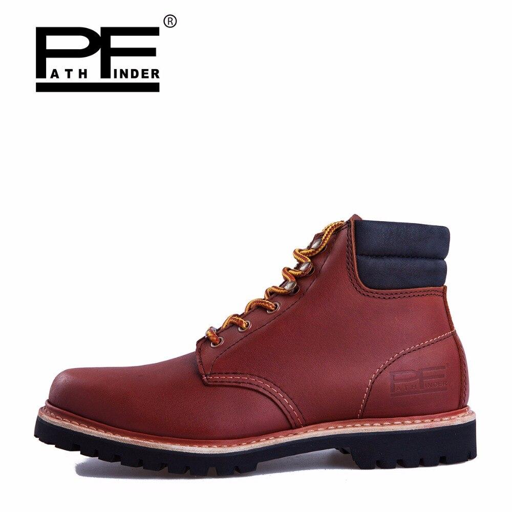 Fashion Musim Dingin Kulit Dr Martin sepatu Kasual Sepatu pria Boots Ankle  Botas Patshfinder Merek Sepeda 54afce4840
