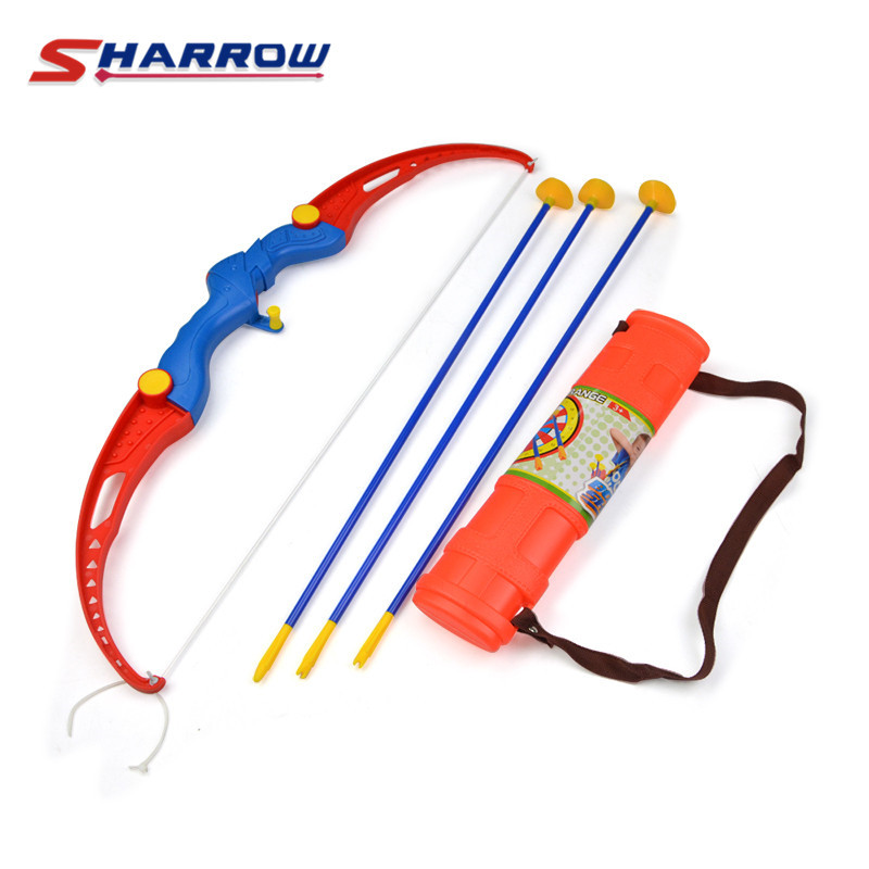 Toy Set Archery Kids With 3 Suction Arrows Shooting Games Gift Park Fun Toxophily Children Kids Shooting Archery Accessories