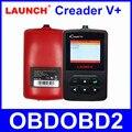 [Distributor launch] launch creader v + plus 100% original leitor de código obd2 scanner de multi-línguas suportadas frete atualização online