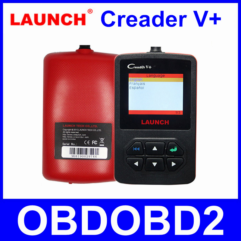 [Launch Distributor] LAUNCH CReader V+ Plus 100% Original OBD2 Code Reader Scanner Multi-Languages Supported Free Updated Online стоимость