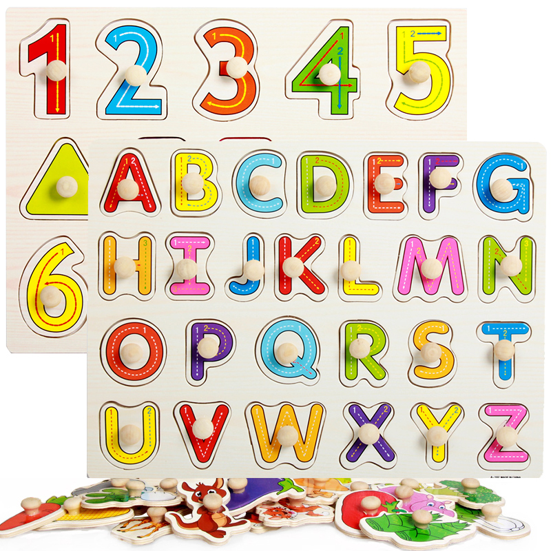Home Shock-Resistant And Antimagnetic Efficient Montessori Materials Montessori Toys Number Puzzle Board With Knobs Preschool Educational Montessori Toys For Toddler Ud0964h Waterproof