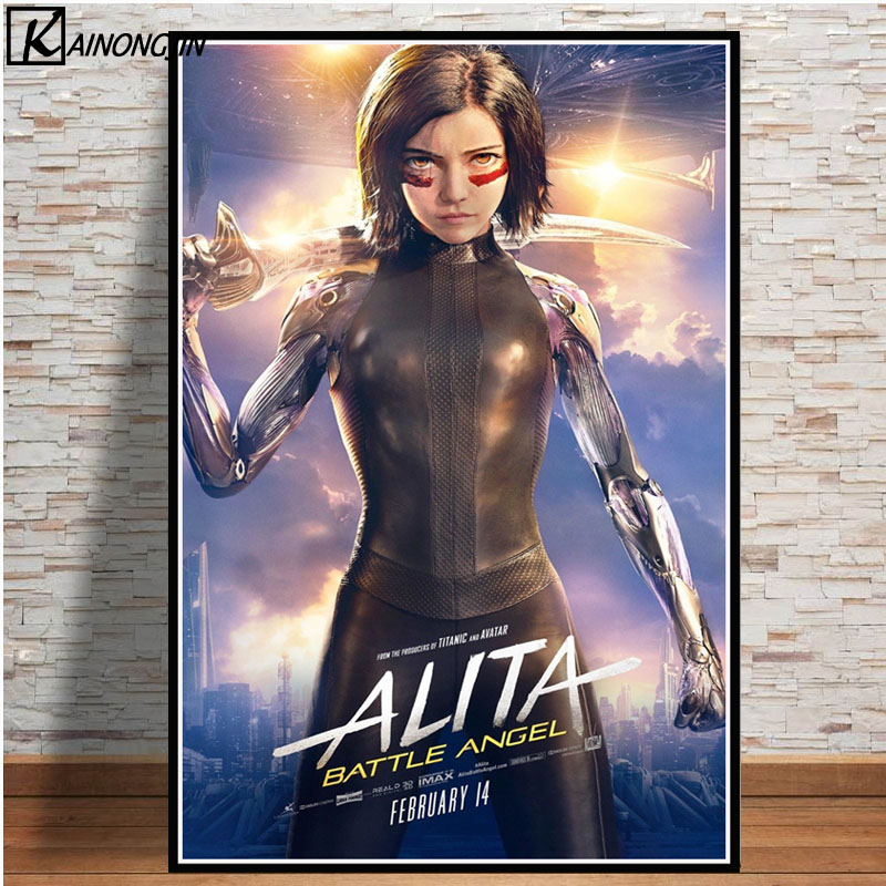 20x30 Alita Battle Angel poster wall art home decor photo print 16x24 24x36