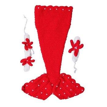 горячие красота костюмы русалок шерсти ручной работы вязание крючком