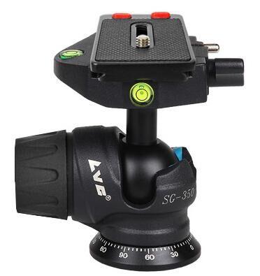 bilder für Lvg video flüssigkeit kamera-stativ-kugelkopf berg dslr einbeinstativ kugelkopf schnellwechselplatte panorama-foto