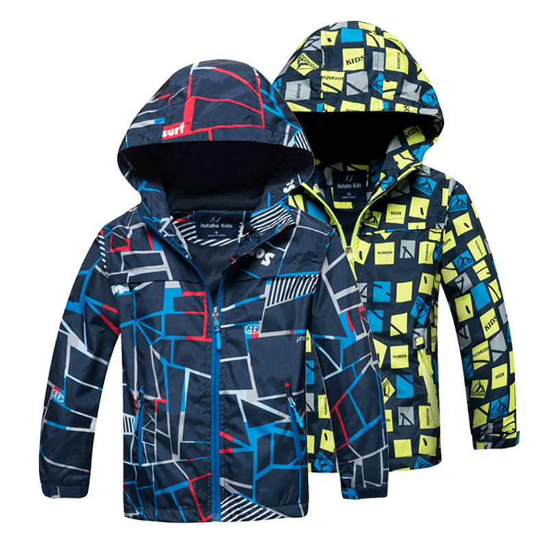 Kids Coat 2018 Autumn Winter Boys Jacket for Boys Children Clothing Hooded Outerwear Baby Boy Clothes 4 5 6 7 8 9 10 11 12 Year