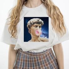 ZOGANKIN New Fashion Women T-shirts Harajuku T Shirt Casual Tops Tee Summer Short Sleeve Womens White Tees
