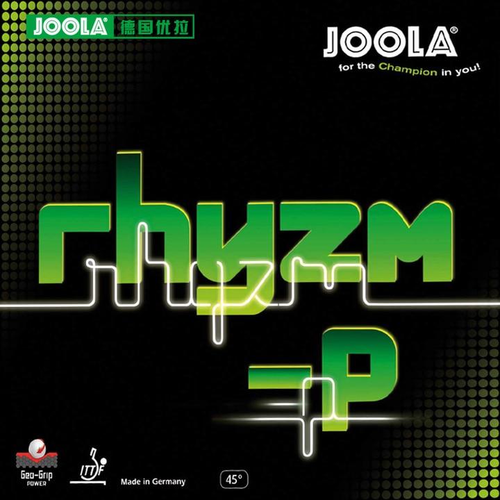 Joola RHYZM-P (Spin & Controle, para 40 +) Rhyzm-p Ténis de Mesa Ping Pong Borracha Esponja Tenis de Mesa