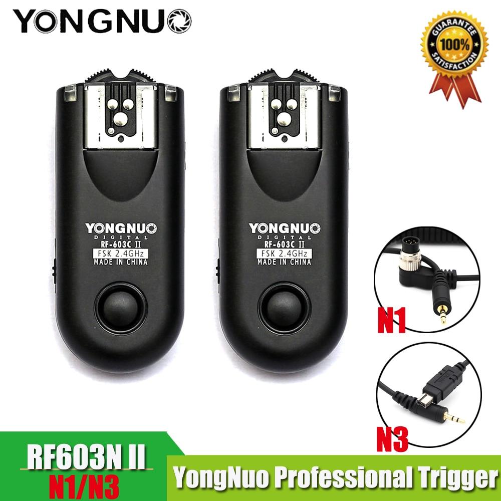 RF603IIN1 RF 603IIN3 Trigger Radio Wireless Remote Flash Trigger for Nikon D800 D700 D300 D90 D5000