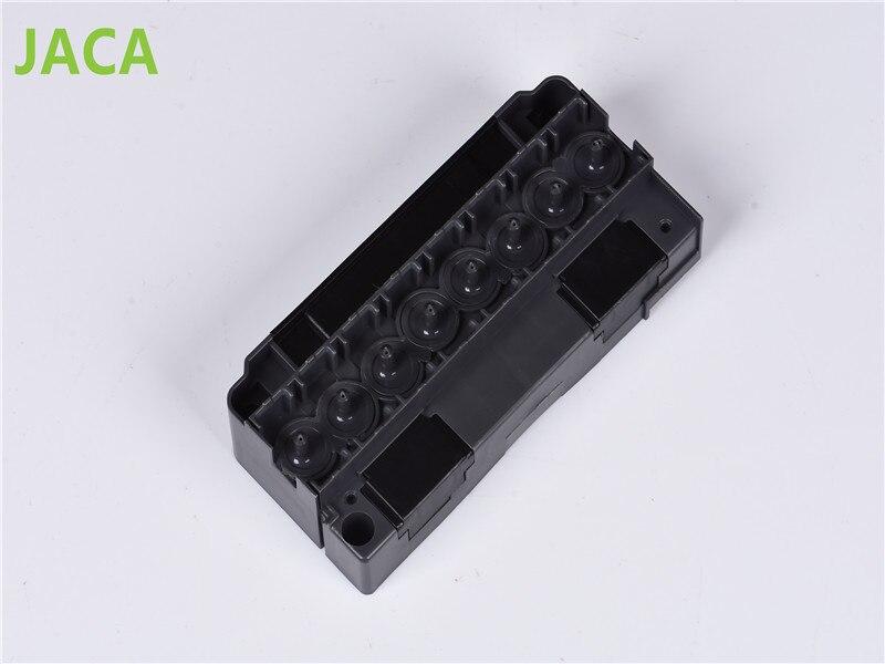 Alta calidad DX5 cubierta de la cabeza de impresión para DX5 impresión solvente cubierta adaptador para Mutoh VJ1624 1638 1617 H 2638 1604 1614 prin
