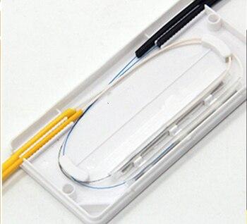 10 piezas cable protección caja de fibra óptica de protección de Tubo termorretráctil para proteger a fibra de empalme bandeja 2 en 2