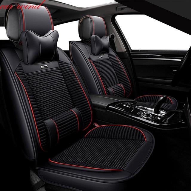 Car Wind Seat Cover For Jeep Comp 2018 Honda Accord Nissan X Trail T31 Juke Ford Kuga Covers Vehicle