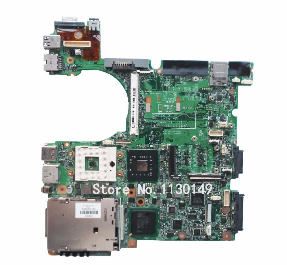 Free Shipping original For HP 8530P motherboard 495085-001 48.4V801.031 intel DDR2 100% tested well fast shipping original server motherboard for ml350 g4 365062 001 well tested working