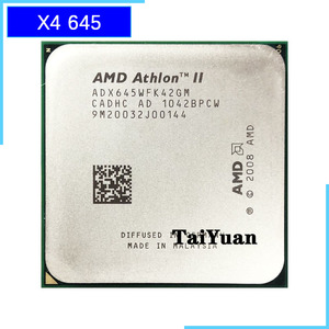 AMD Athlon II X4 645 3.1 GHz Quad-Core CPU Processor ADX645WFK42GM Socket AM3