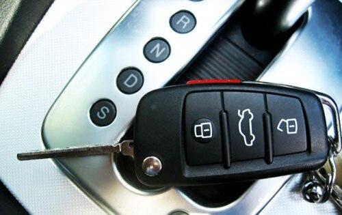 Жесткий пластиковый БЕСКЛЮЧЕВОЙ дистанционный ключ защитный кожух(глянец серебристый) для Audi