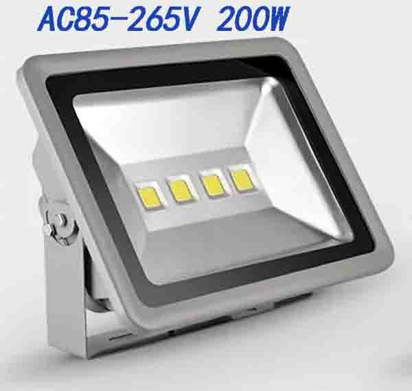 Outdoor led floodlight 100W 150W 200W LED Waterproof wash flood 85-265V street lamp luminaire Tunnel lights High brightness