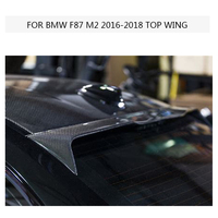 M2 M87 Carbon Fiber Spoiler Top Wing For Bmw M2 F87 Wing Lip Sticker 2016 2018