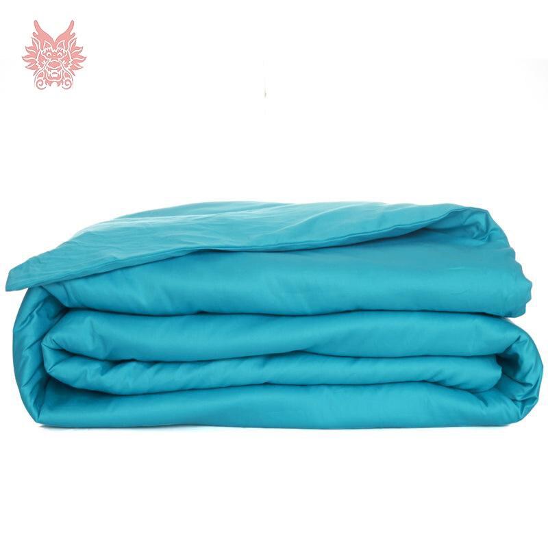 ୧ʕ ʔ୨Estilo moderno multi color sólido puro 100% algodón funda