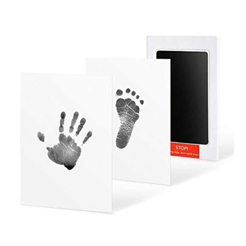 Baby Footprint Handprint Pad Newborn Infant Non-Toxic Clean Touch Ink Stamp Photo Hand Foot Print Stuff Souvenirs Birthday Gifts