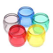 Dla TFV12 książę parownik Atomizer przezroczyste kolorowe Vape szklana rurka szklany zbiornik akcesoria do elektronicznego papierosa tanie tanio Glass Tube Szkło