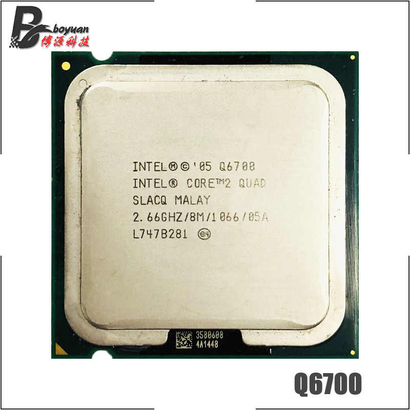 Intel Core 2 Quad Q6700 2.6 GHz Quad-Core procesor CPU 8 M 95 W 1066 LGA 775