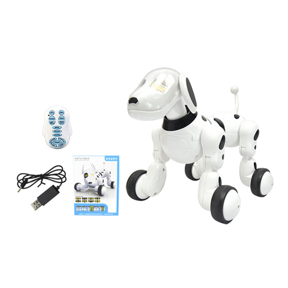 Sans fil électronique pour animaux de compagnie télécommande intelligente Robot chien animal de compagnie enfant éducation précoce Puzzle électrique jouet chien