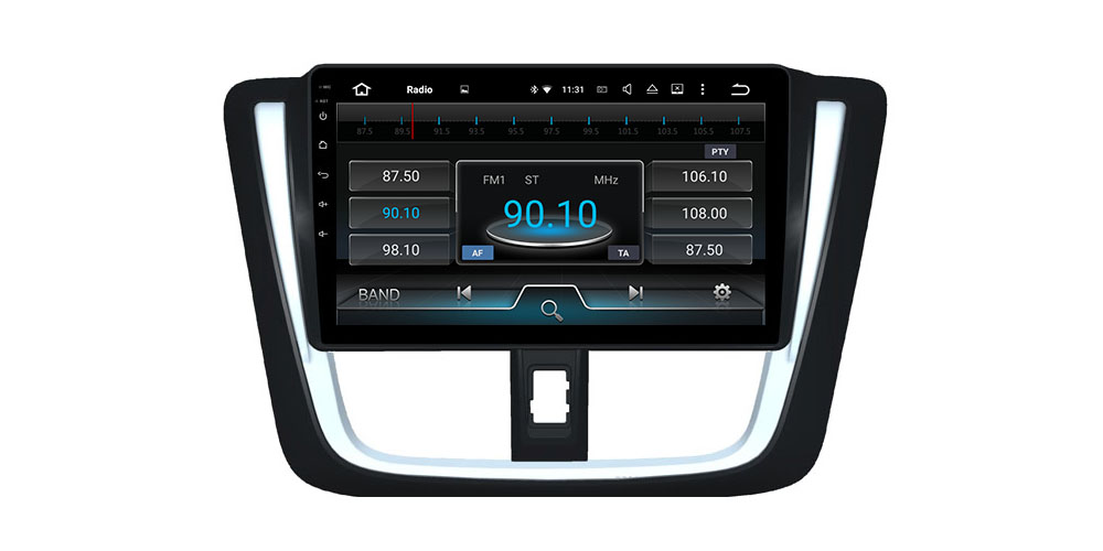 ZaiXi Android 7.0 up IPS car player for Toyota Yaris 2015~2019 original Style Autoradio gps navigation Stereo Bluetooth WiFi 7