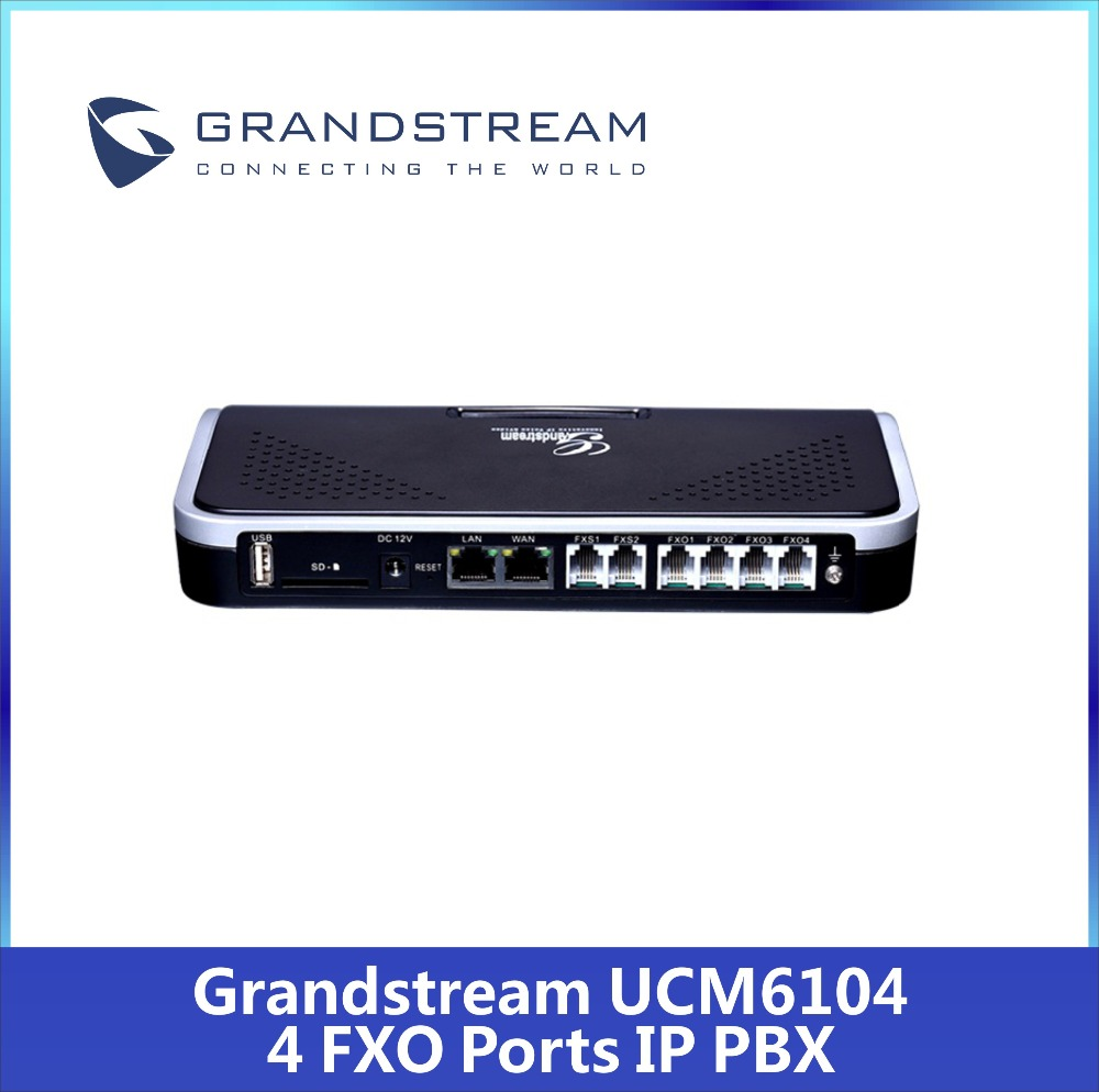 US $460 0  Best Price GrandStream UCM6104 UCM6104 innovative IP PBX  appliance-in PBX from Computer & Office on Aliexpress com   Alibaba Group