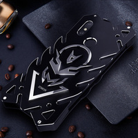 Case For xiaomi Redmi Note 5 case Aluminum Alloy Metal Shockproof Anti Knock Bumper Luxury Phone Cover Case FOR Redmi Note5