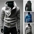 2014 del otoño del Resorte cable siesta Cuello chaquetas venta caliente de la marca superior de la Chaqueta Sudaderas Con Capucha moda prendas de vestir exteriores sudadera
