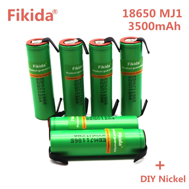 6PCS Original for LG MJ1 18650 battery INR18650MJ1 10A discharge li-iony battery cell 3500mAh INR18650MJ1 batteries+DIY nicke replacement 3 7v 3500mah battery pack with back case for lg optimus 2x p990 p993
