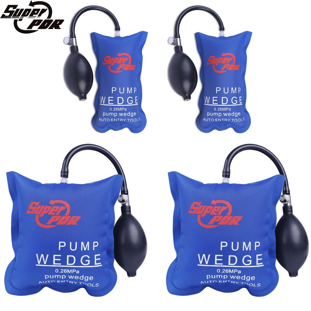 4 PCS /Set Super PDR Pump Wedge Locksmith Tools Airbag Paintless Dent Remover Kit Auto Tools Pump Wedge Car Air Wedge Airbag Set цены
