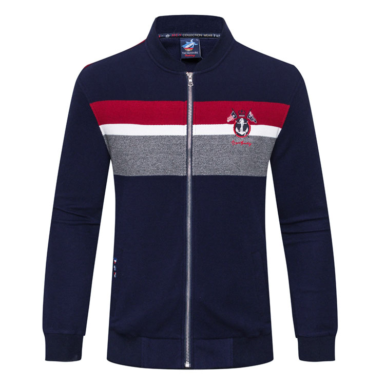 TACE&SHARK Billionaire T shirt men 2017 new style autumn fashion comfort high quality striped color gentleman free