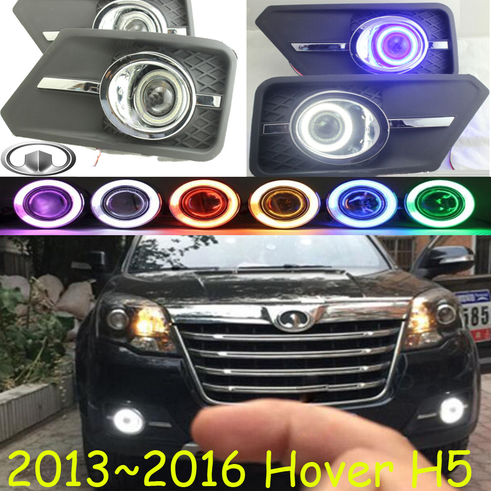 Great Wall Hover H5 fog light;2013~2016 Free ship!Hover H5 daytime light,2ps/set+wire ON/OFF:Halogen/HID XENON+Ballast,Hover H5 seintex 85651 для great wall hover h5 tda