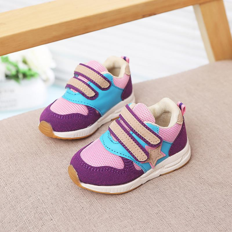 9d8f1b93d51 Autumn WEIXINBUY Children Casual shoes Boys Girls Shoes Mesh Breathable  Rubber Casual Sports Running Shoes Size21 22 23 24 25 26-in Sneakers from  Mother   ...