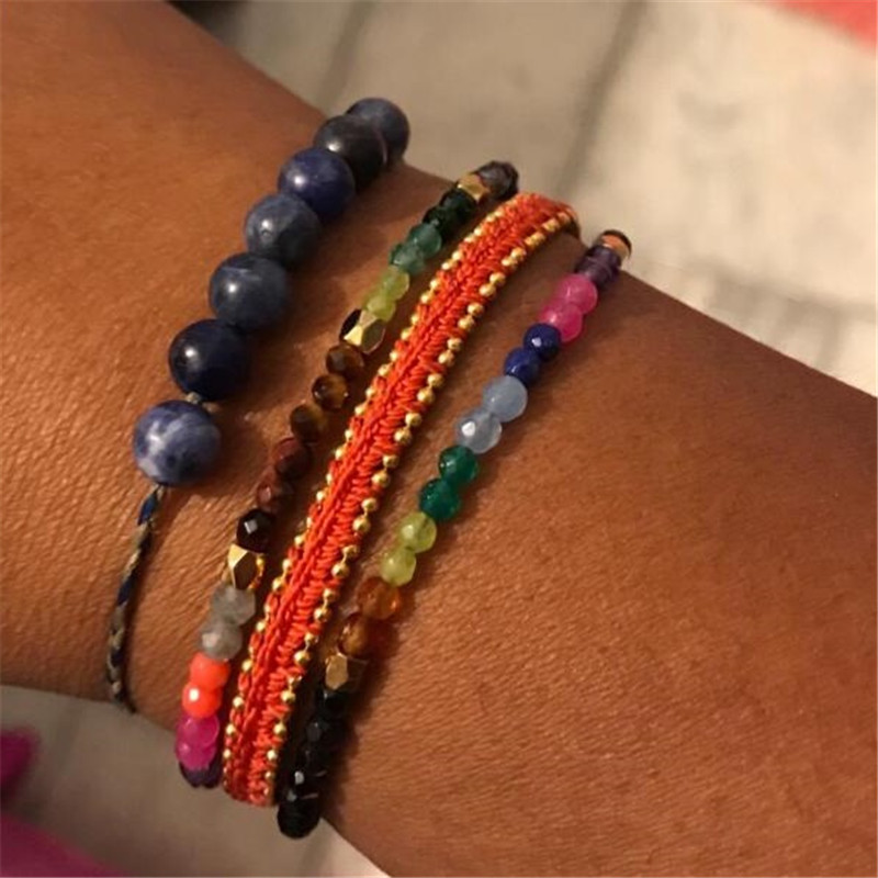 Bracelet 7 Chakras au bras