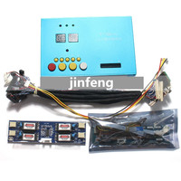 T 100 Pro Aluminum Shell Laptop TV LCD/LED Panel Tester 7 84 Built in 100 programs w/ LVDS Cables& Inverter & LED Board