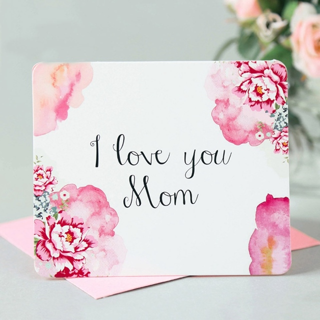 New arrival letters printing mothers day postcards love mom gifts new arrival letters printing mothers day postcards love mom gifts greeting cards with envelope stationary m4hsunfo