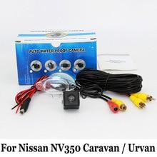 Камера заднего вида Для Nissan NV350 Караван/Urvan/RCA Провода Или беспроводной/HD Широкоугольный Объектив/CCD Ночного Видения Заднего Вида камера