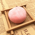 1Pc Cake Design Wagashi Mochi Stress Squishy Scented Stretchy Ball Chain