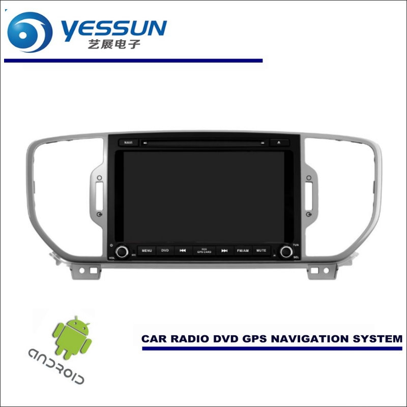 YESSUN Car Android Navigation System For KIA Sportage QL / KX5 2015~2017 -  Radio