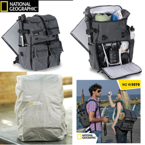 Promotion Sales New Genuine National Geographic NG W5070 Camera Case Bag Shoulders Bag Backpack Rucksack Laptop Travel national geographic ng au5350 leather camera bag backpacks large capacity laptop carry bag for digital video camera travel bag