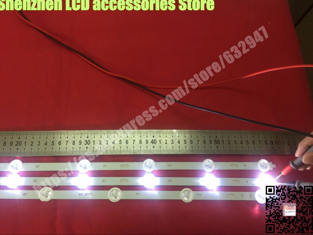3piece/lot  FOR Samsung 32 Inch Light Screen  SVS320AD7  SVS320AD7_6LED 32vle5304gb 1piece=59CM (1set=1PCS 7LED +2PCS 6LED)