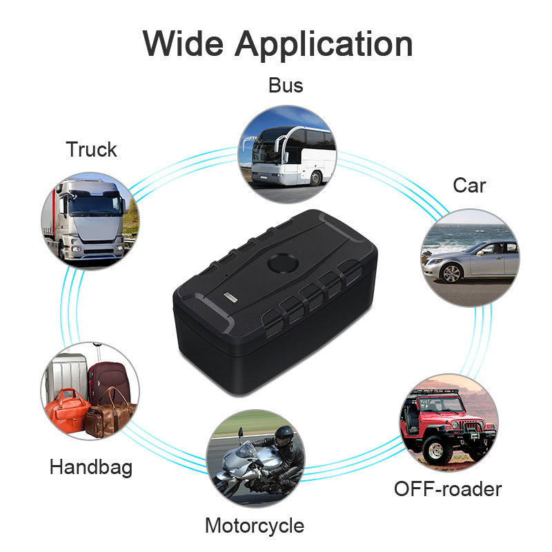 Car GPS Tracker <font><b>LK209C</b></font> 20000mAh LK209B 10000mAh Long Standby Magnet Vehicle GPS Locator Waterproof Shock Drop Alarm Free Web APP image